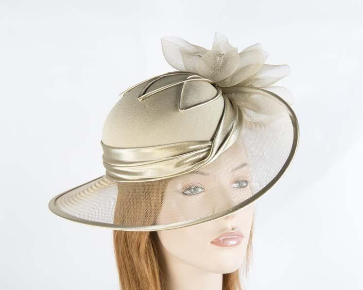 be16baf28 Antique Gold Mother of the Bride Hat