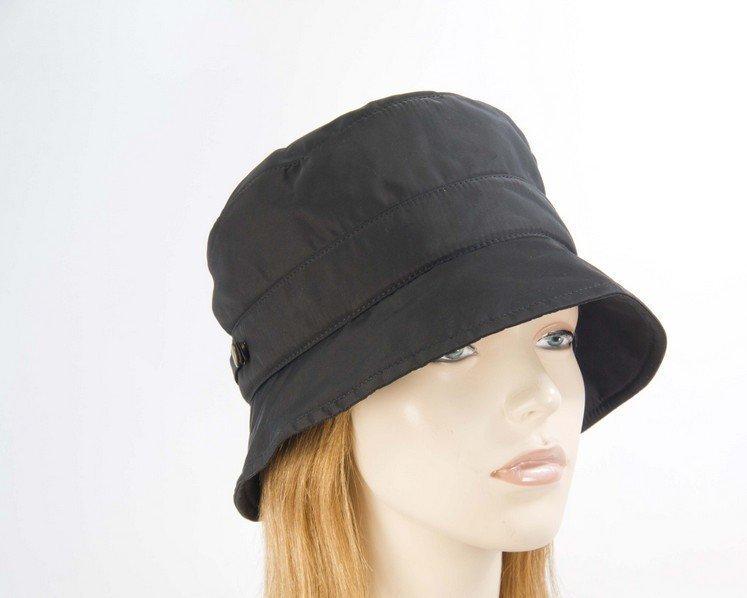 Black casual weatherproof bucket golf hat