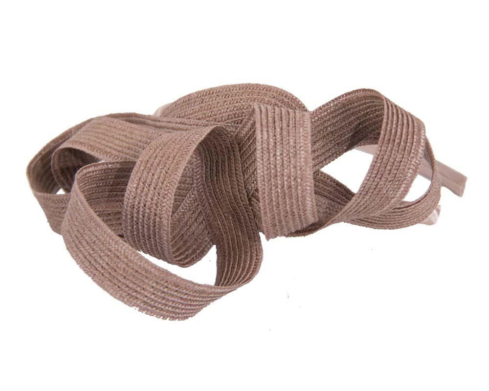 Tan loops on the headband