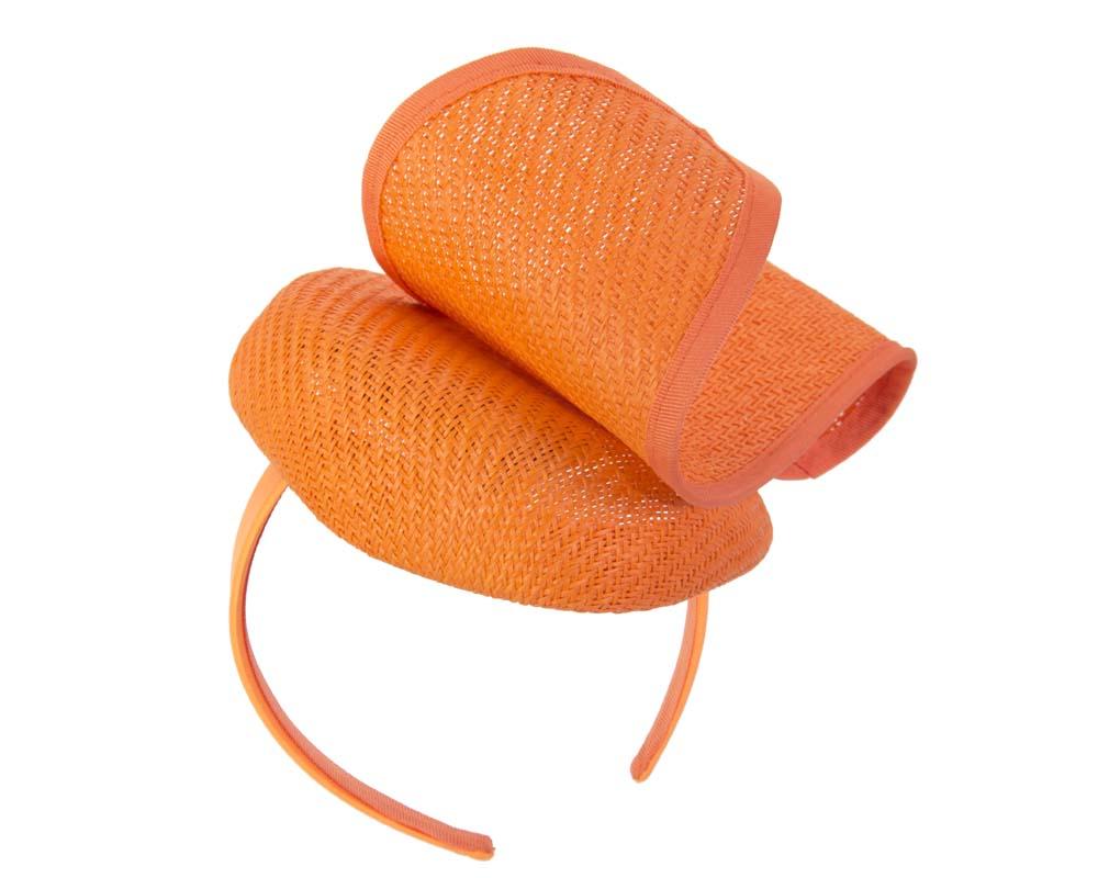 Orange pillbox with wave