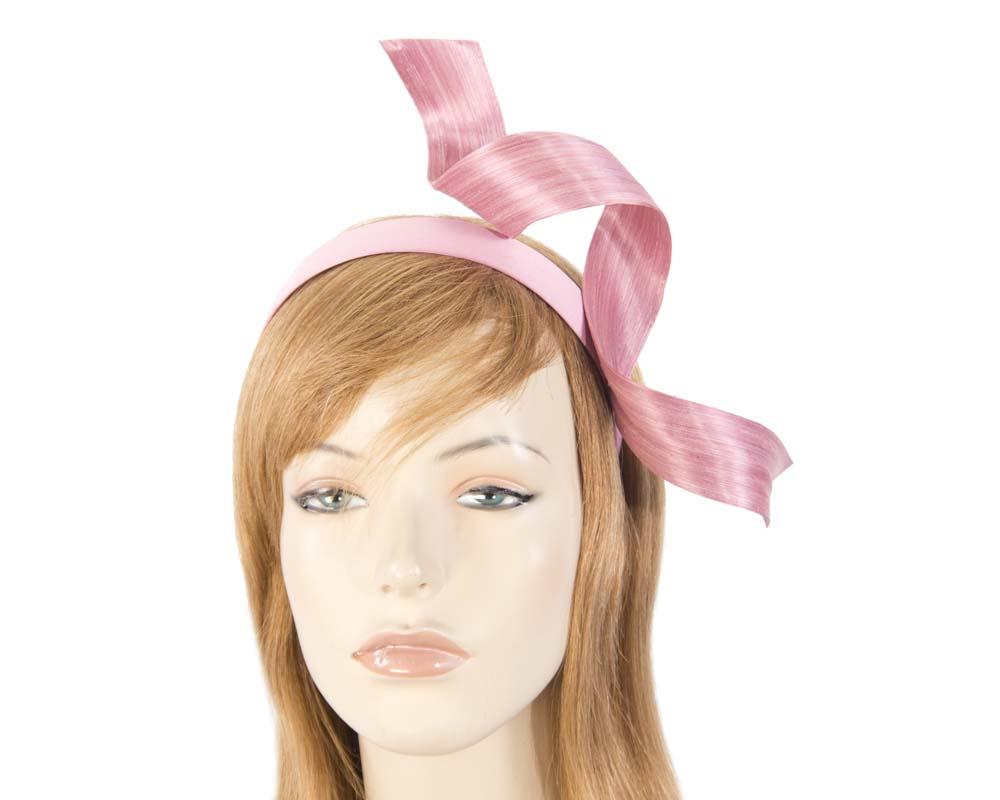 fbd3a2c4d Dusty pink twist fascinator headband
