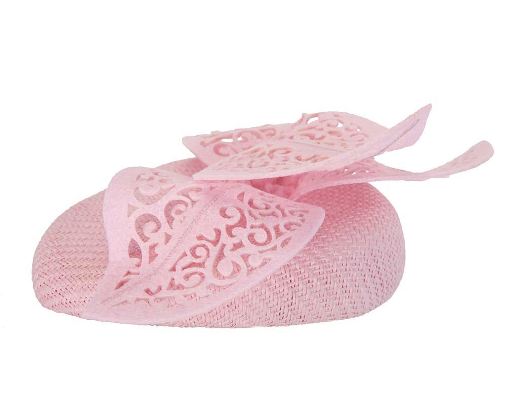 Pink laser cut fascinator